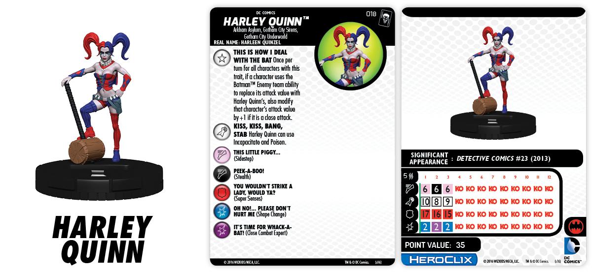 DC HeroClix: The Joker's Wild! - Harley Quinn