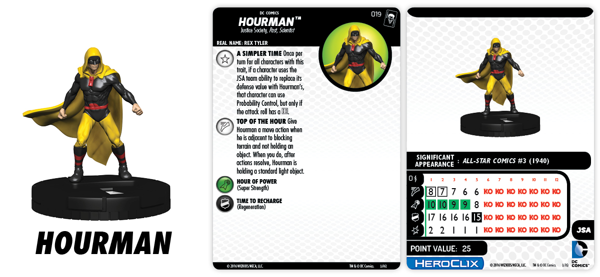 DC HeroClix: The Joker's Wild!- Hourman