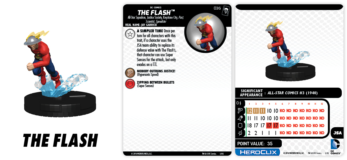 DC HeroClix: The Joker's Wild- The Flash JSA