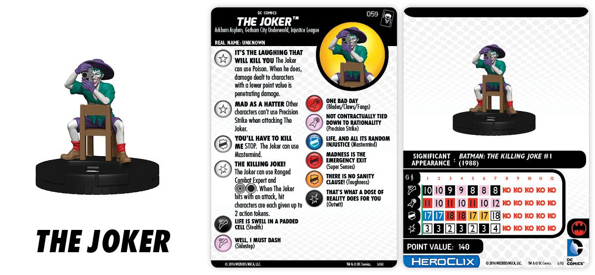 DC HeroClix: The Joker's Wild! - The Joker