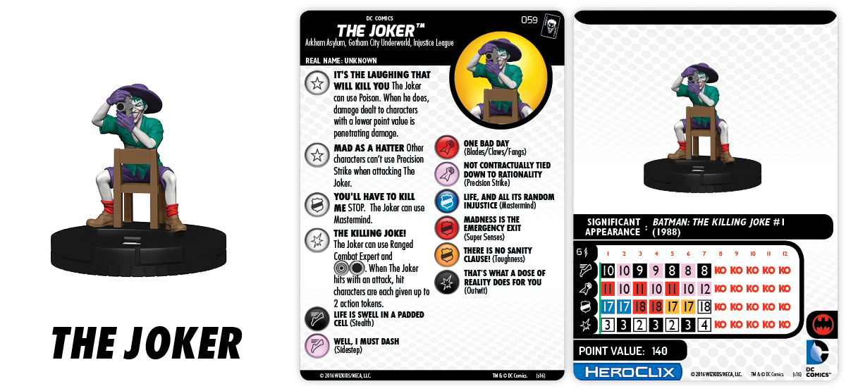 Clix It Up - The Joker 059