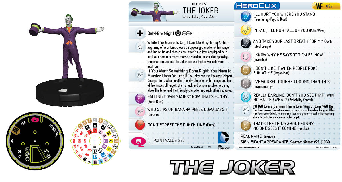 Clix It Up - The Joker 054