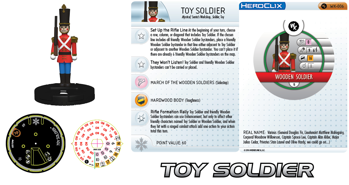 WizKids HeroClix Toy Soldiers Holiday OP