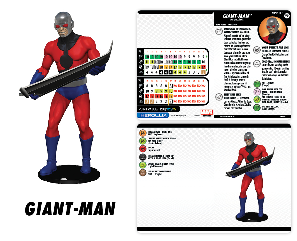 Marvel HeroClix: Giant-Man Con Exclusive