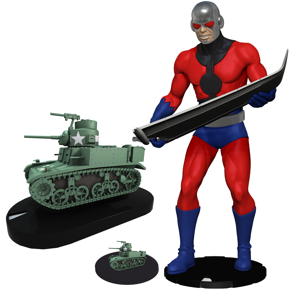 2017 Convention Exclusives - Marvel HeroClix: Giant-Man with Pym Particle Tank