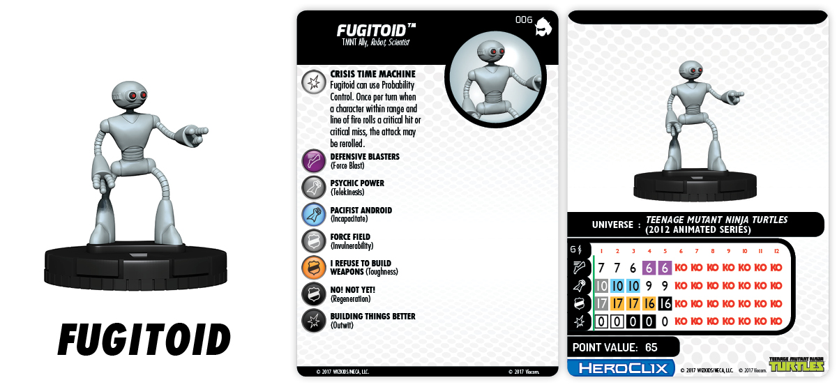 Teenage Mutant Ninja Turtles HeroClix: Shredder's Return - Fugitoid